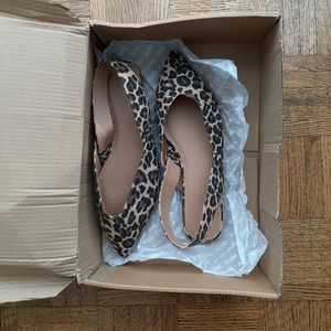 New Look from ASOS Leopard Flats with Pointed Toe